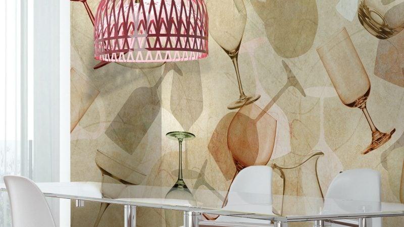 Tapeten für küche   23 frische ideen   esszimmer, innendesign ...