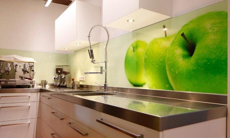 tapete für küche 3d