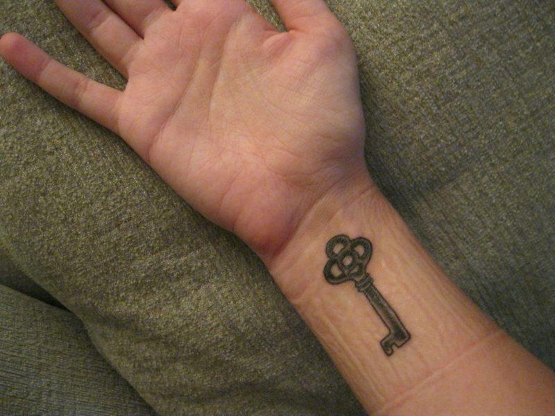 Tattoo Schlüssel Hand