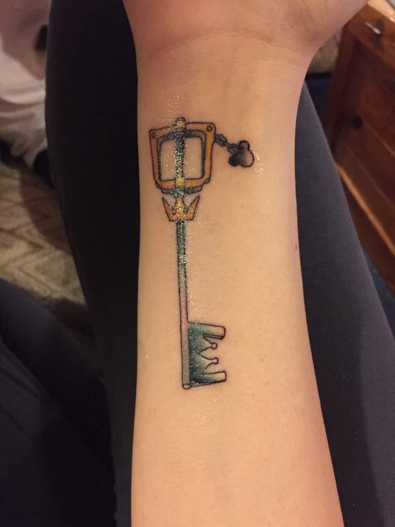 Tattoo Schlüssel Farben