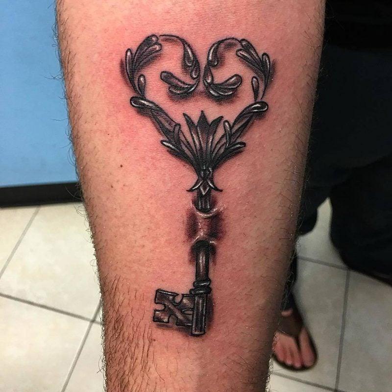 Tattoo Schlüssel Männer