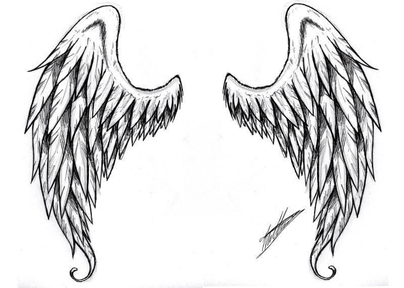 Tattoovorlagen kostenlos Flügel