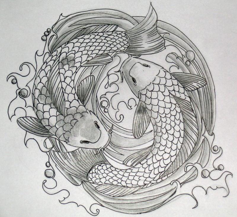 Tattoovorlagen kostenlos Fische