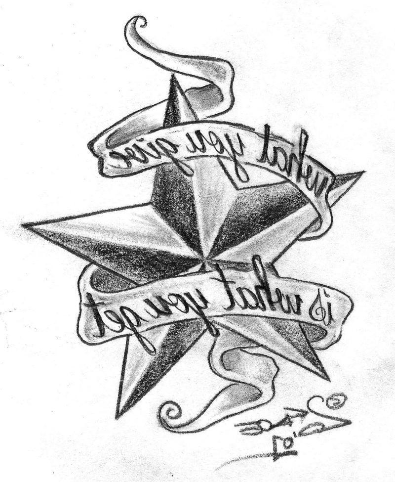 Tattoovorlagen kostenlos Star