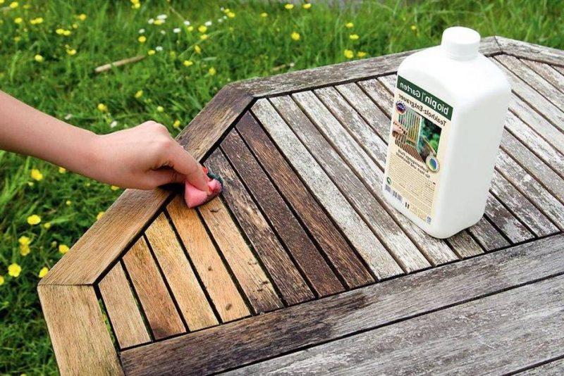 Teak Gartenmöbel ? Pflege Tipps Für Sitzgruppe Aus Holz - 2014-11 ... Schutz Pflegetipps Holz