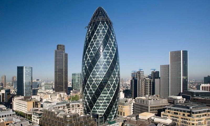 organische Architektur the Gherkin London