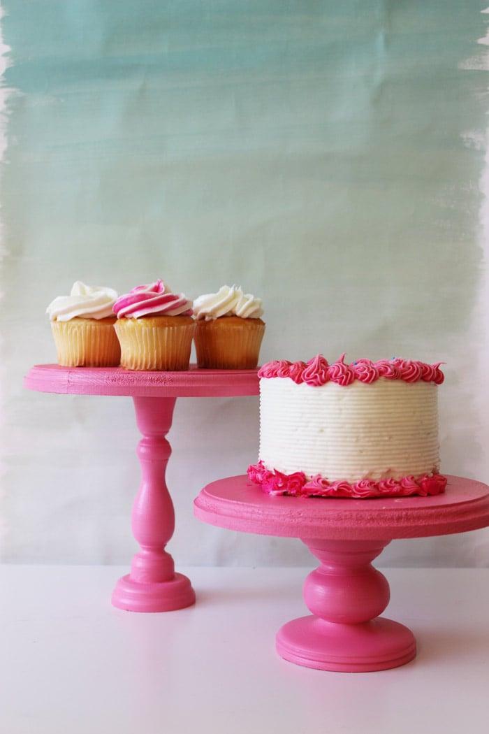 tortenetagere rosa