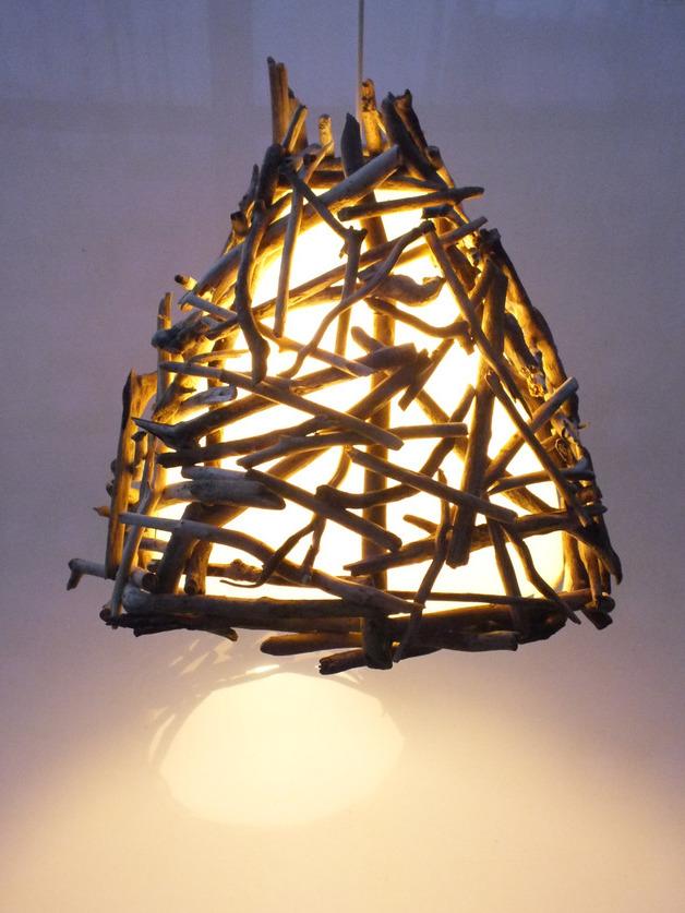 treibholz lampen schön