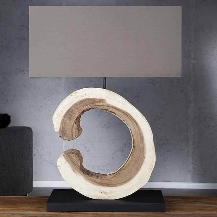 treibholz lampen 22 elegante designer ideen beleuchtung deko feiern zenideen. Black Bedroom Furniture Sets. Home Design Ideas