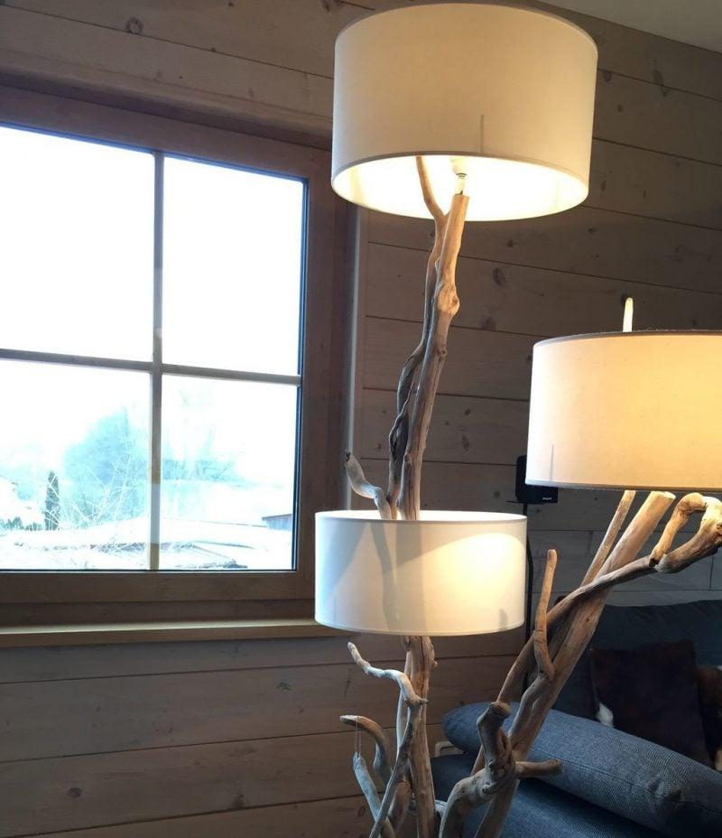 treibholz lampen design