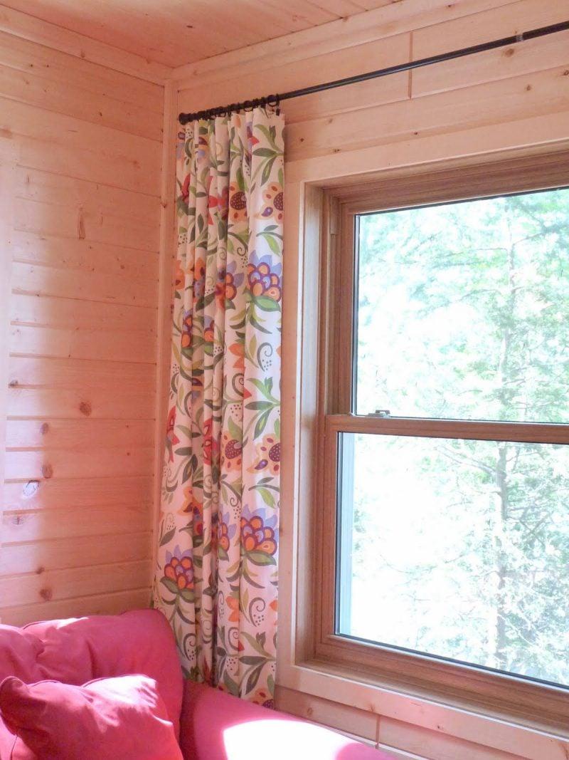 Vorhang nähen DIY