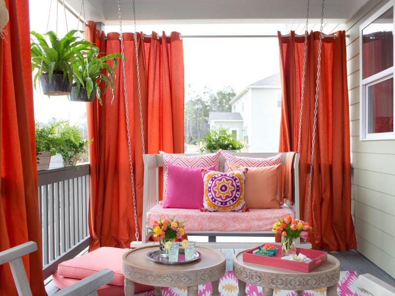 Vorhang nähen Design
