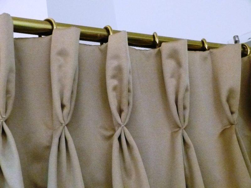 Vorhang nähen Plissen