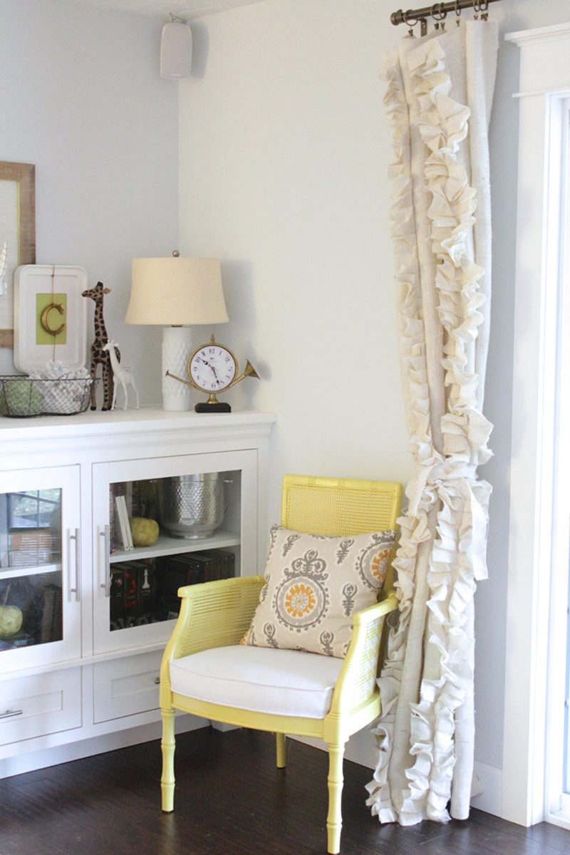 Vorhang nähen DIY Design