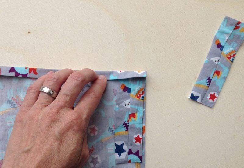 Vorhang nähen DIY Schritt 1