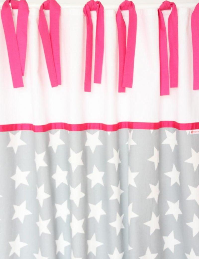 Vorhang nähen Schleifen