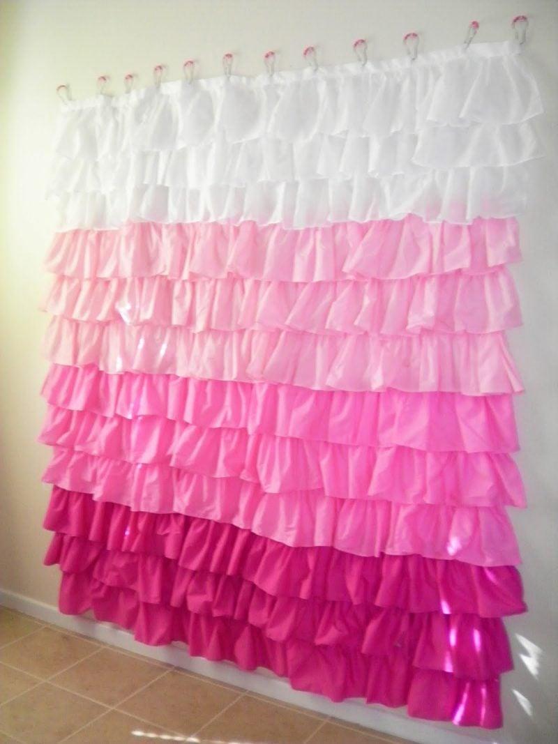 Vorhang nähen Idee