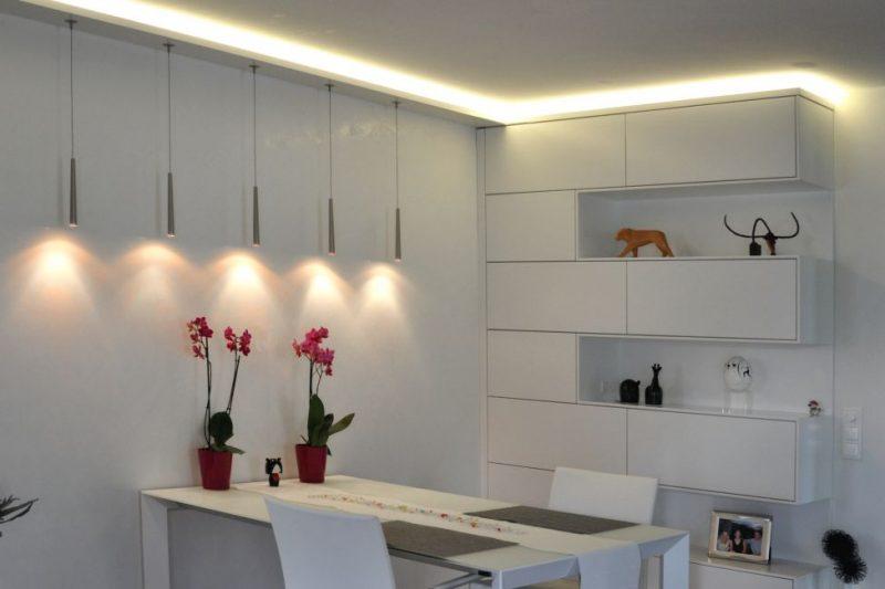 indirekte wandbeleuchtung ~ kreative bilder für zu hause design, Wohnzimmer dekoo