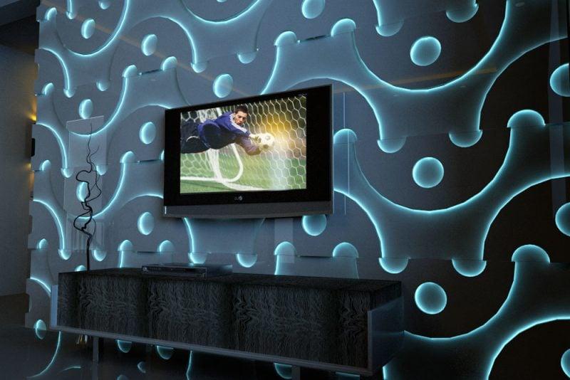 Indirekte Wandbeleuchtung ~ Raum- und Möbeldesign-Inspiration