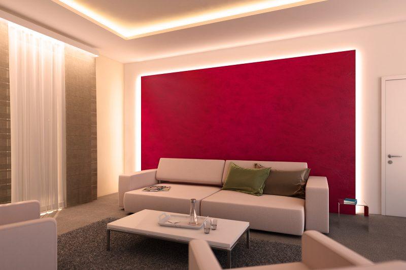 21 stilvolle ideen f r indirekte wandbeleuchtung beleuchtung deko feiern zenideen - Indirekte wandbeleuchtung ...