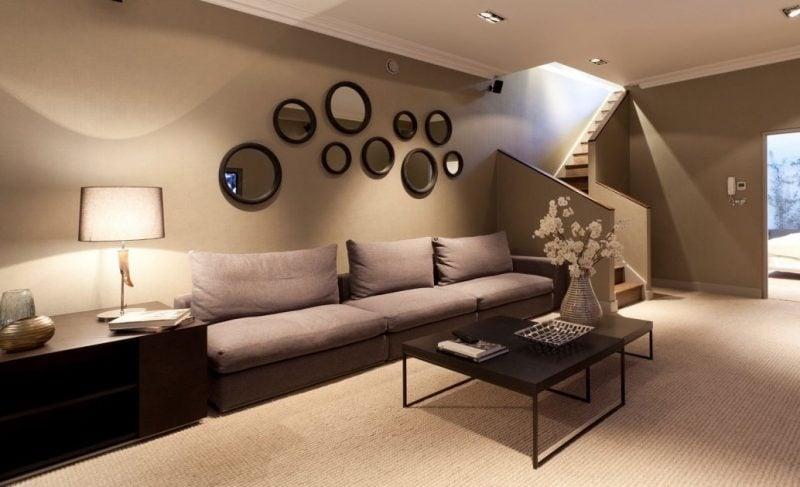 was passt zu braun farbe. Black Bedroom Furniture Sets. Home Design Ideas