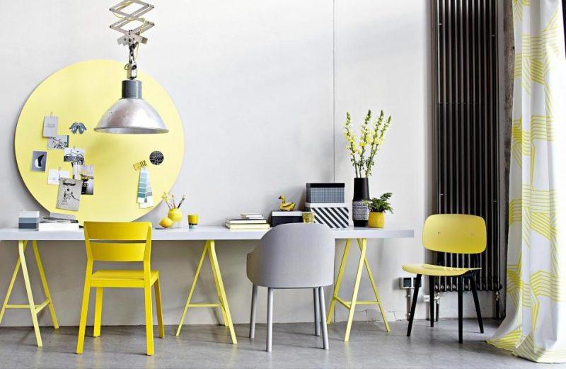 Welche Farben passen zusammen Gelb Grau