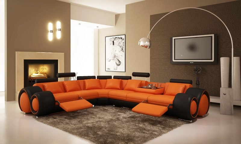 Welche Farben passen zusammen Orange Beige