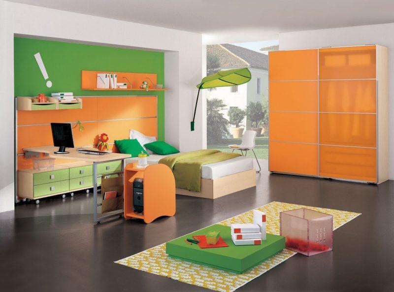 Welche Farben passen zusammen Orange Grun