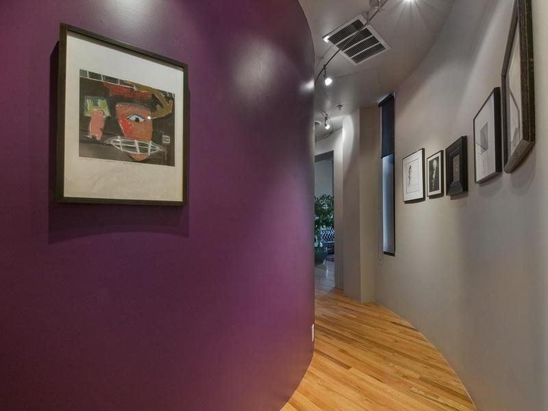Welche Farben passen zusammen Violet Grau