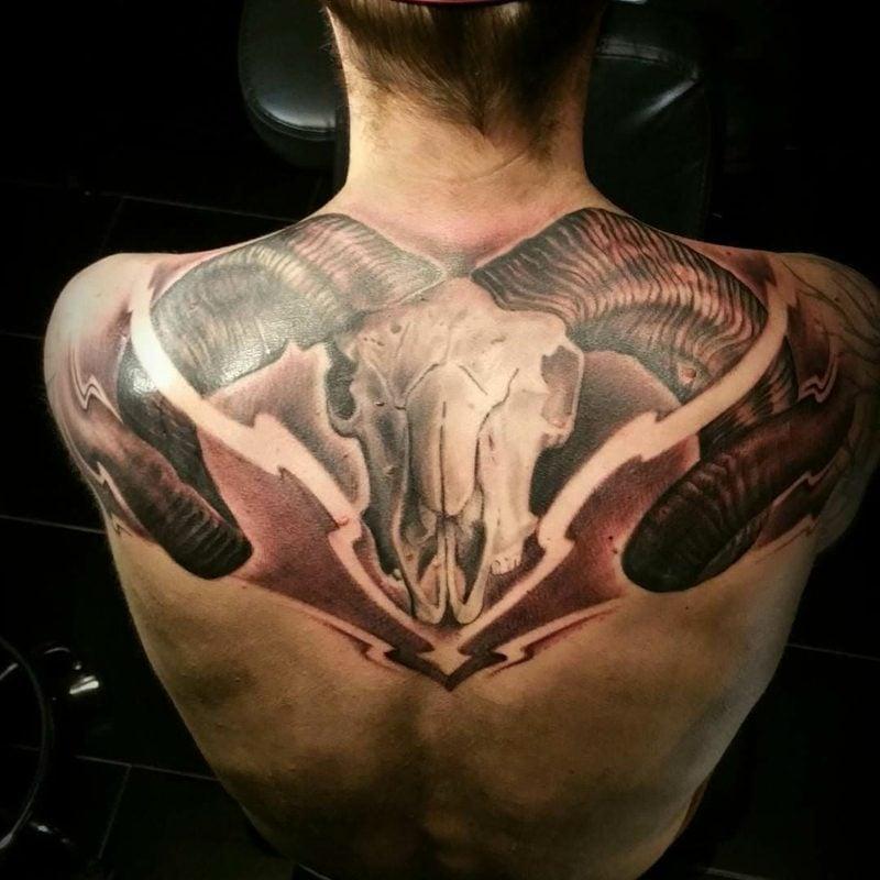 widder tattoo Attractive Aries