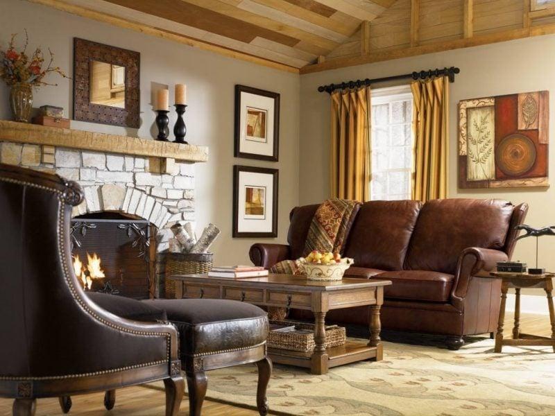 Wohnraumgestaltung Kolonialstil Möbel