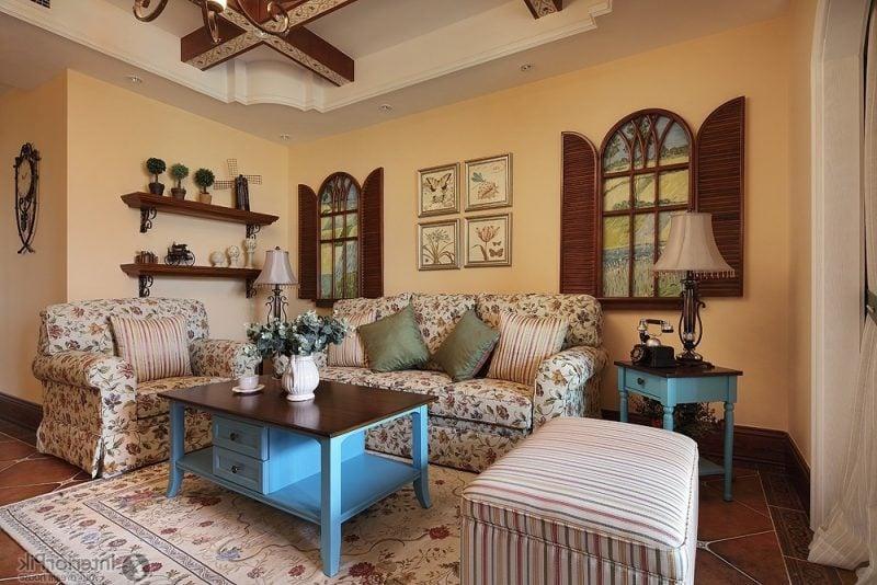 Wohnraumgestaltung Landhausstil Einrichtung