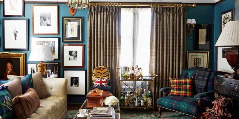 Wohnraumgestaltung Landhausstil Englisch Stil