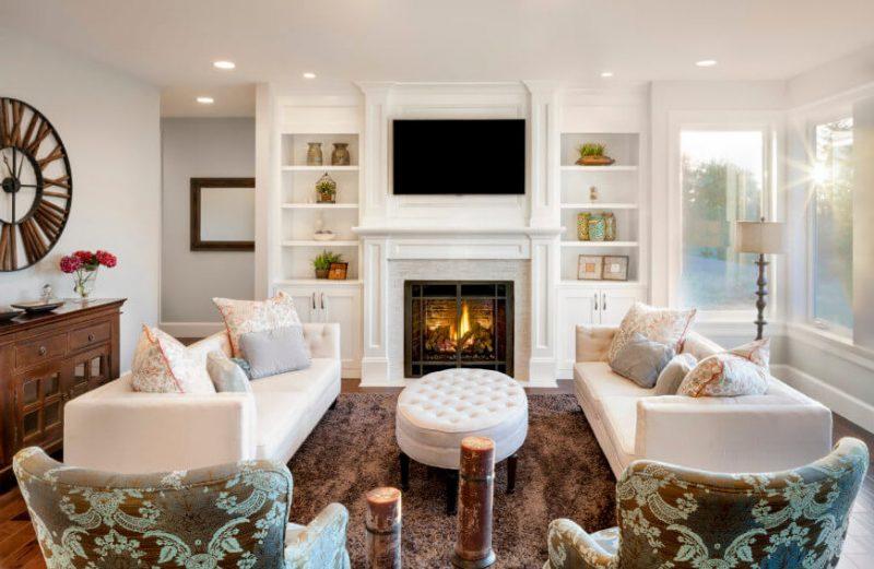 Wohnraumgestaltung Landhausstil Einrichtungsideen