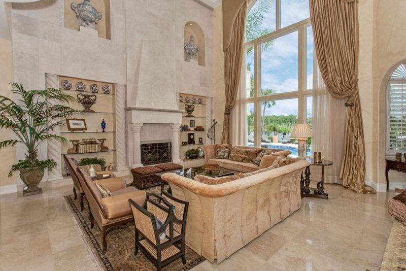 Wohnraumgestaltung mediterranen Stil