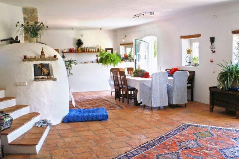 Wohnraumgestaltung Mediterranes Wohnzimmer