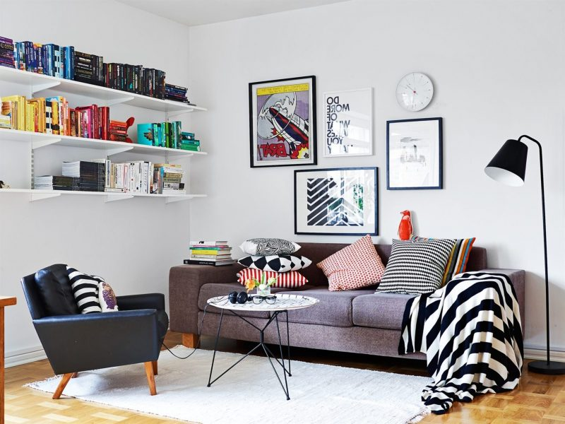 Wohnraumgestaltung Skandinavischen Stil