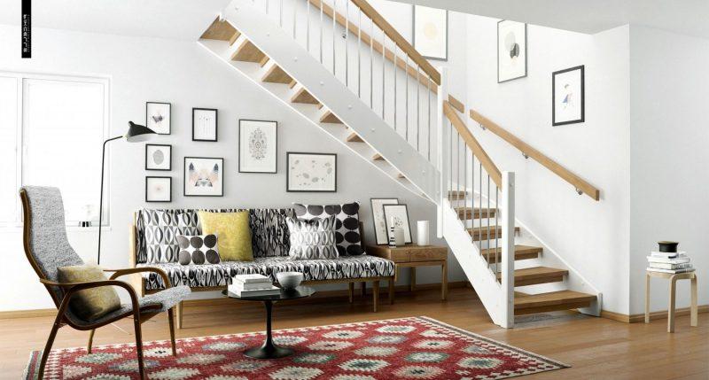 Wohnraumgestaltung im skandinavischen Stil