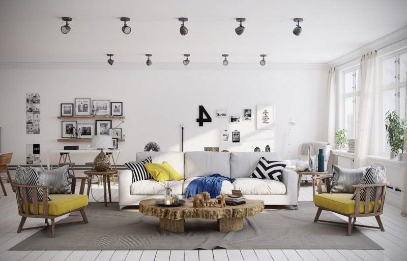 Wohnraumgestaltung aus Skandinavien