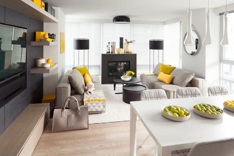 Wohnraumgestaltung Skandinavischen Stil Farben