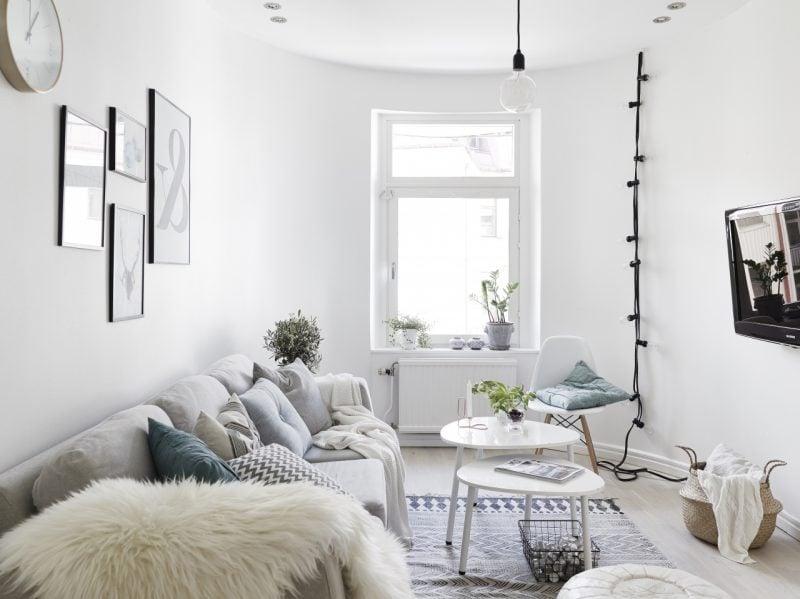 Wohnraumgestaltung Skandinavische Einrichtung