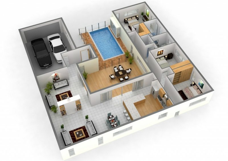 3d-raumplaner apartment design