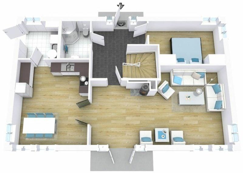 3d raumplaner die kreative wohnungsgestaltung for Raumplanung wohnung