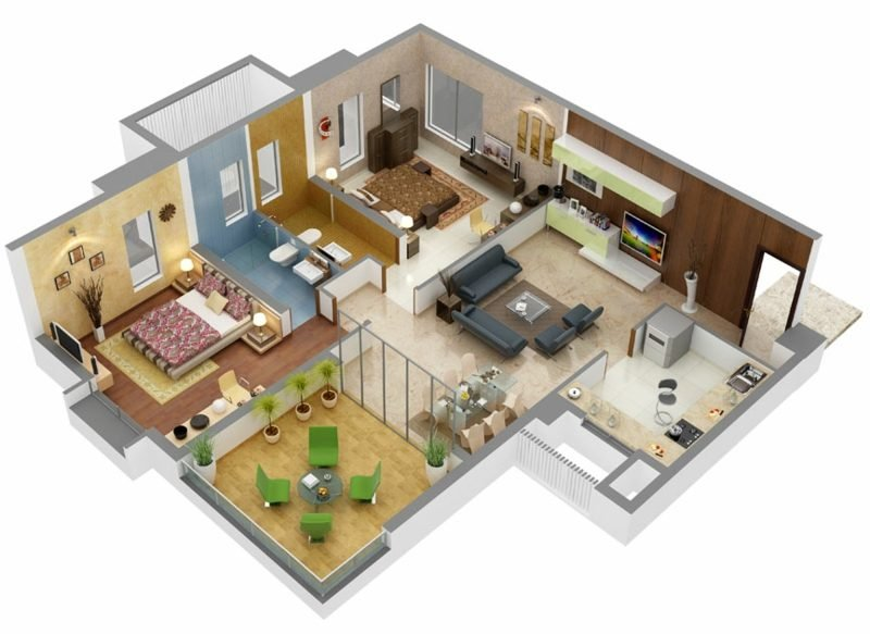 3d raumplaner die kreative wohnungsgestaltung for Zimmer 3d einrichten kostenlos