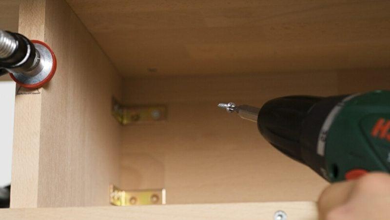 Waschtische selber bauen die Abdeckplatte montieren