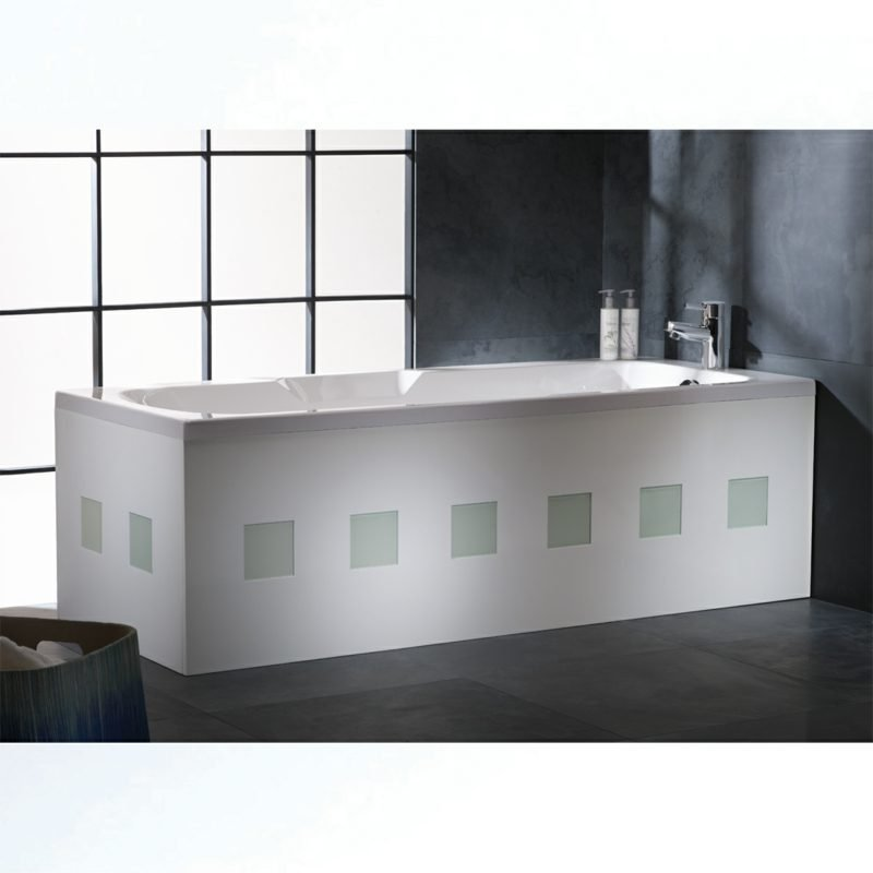 badewannenverkleidun luxury white bath panel