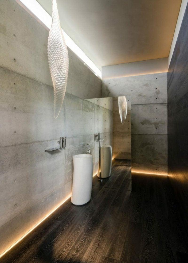 LED-Beleuchtung indirekt Badezimmer