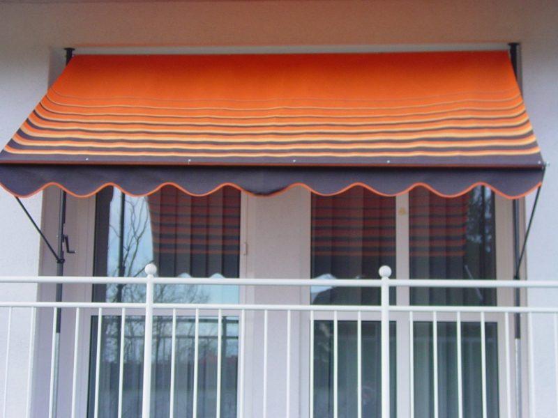 Balkonmarkisen kreative Ideen