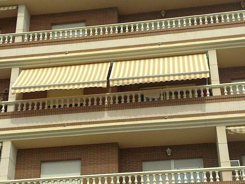 Balkonmarkisen als Wetter- und Sichtschutz