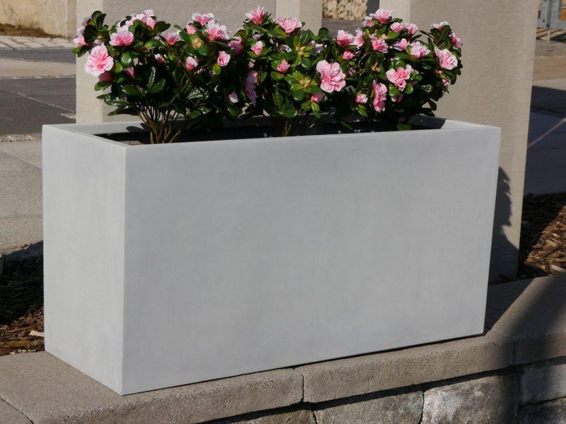 Blumenkasten aus Beton